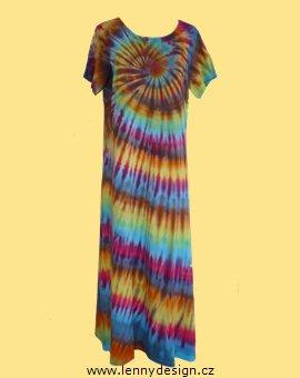 f3ff8bb572e Lenny Design  batikované šaty originál (sat00215)